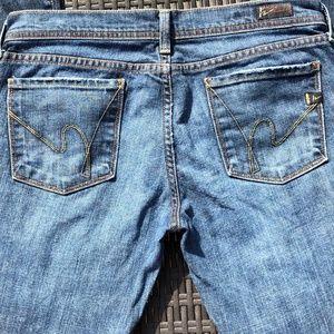 COH Ingrid Wide Leg Flare #003-001 EUC Size 30